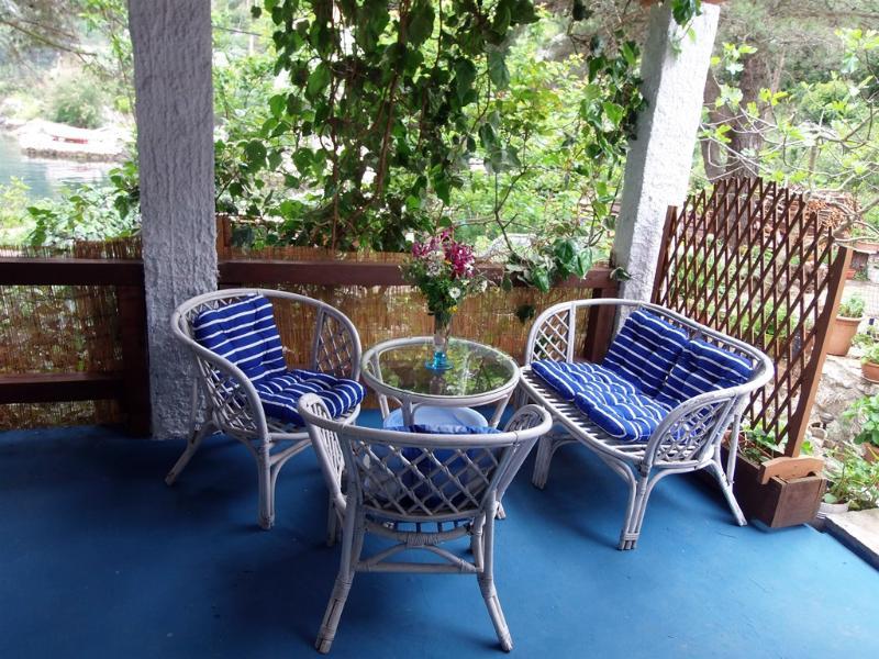 Porch - Quiet Apartment on Adriatic Rea - Sobra - rentals