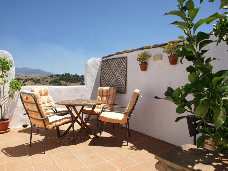 Sun terrace - Beautiful village house - Jimena de la Frontera - rentals