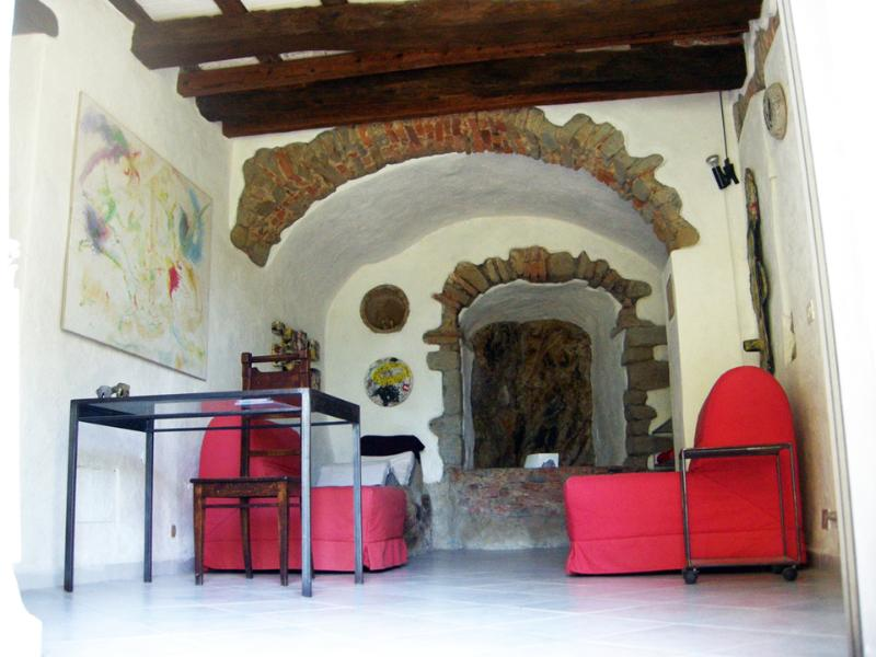 Room for 2 single beds or 1 double bed - Casa d'Artista Plus facing on a sea-view garden - Scarlino - rentals