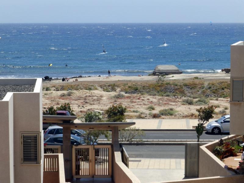 Duplex with wifi front cabezo beach El Medano - Image 1 - El Medano - rentals