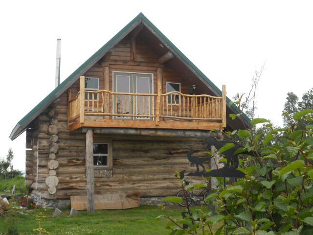Alaskan Log Home on the Bluff of the Cook Inlet!!! - Image 1 - Ninilchik - rentals