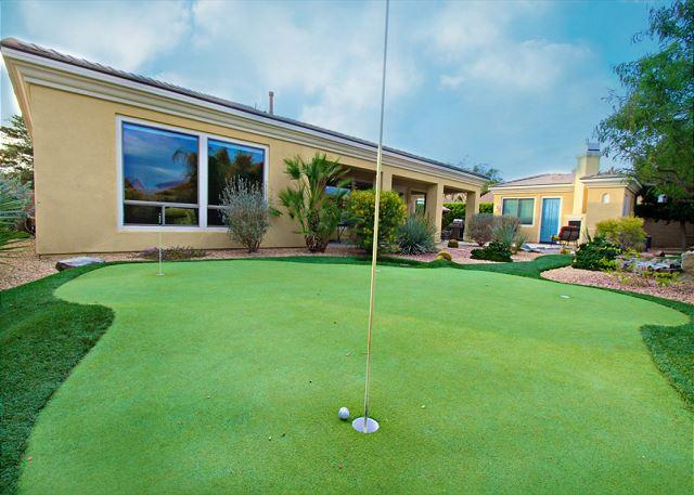 'Augusta' Putting Green with Water Features, Pool , Spa, Outdoor Fireplace - Image 1 - Indio - rentals