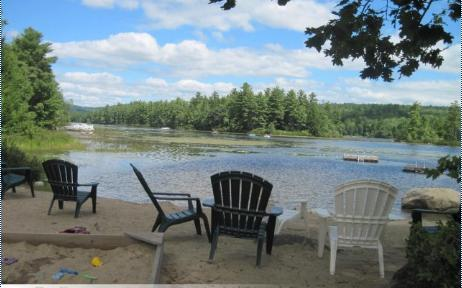 Relax at the beach - The Loft House at Moose Pond - Bridgton - rentals