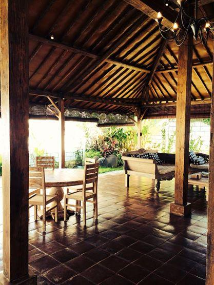 Out look onto the open living space. - ** STUNNING 2-BED VILLA IN CANGGU** - Canggu - rentals