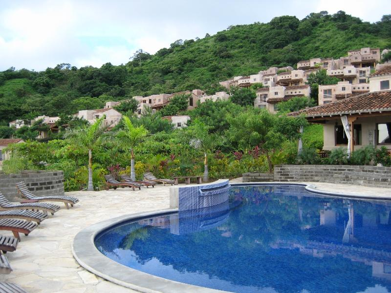 Looking up from the pool. - Nicaragua - the new Costa Rica! - San Juan del Sur - rentals