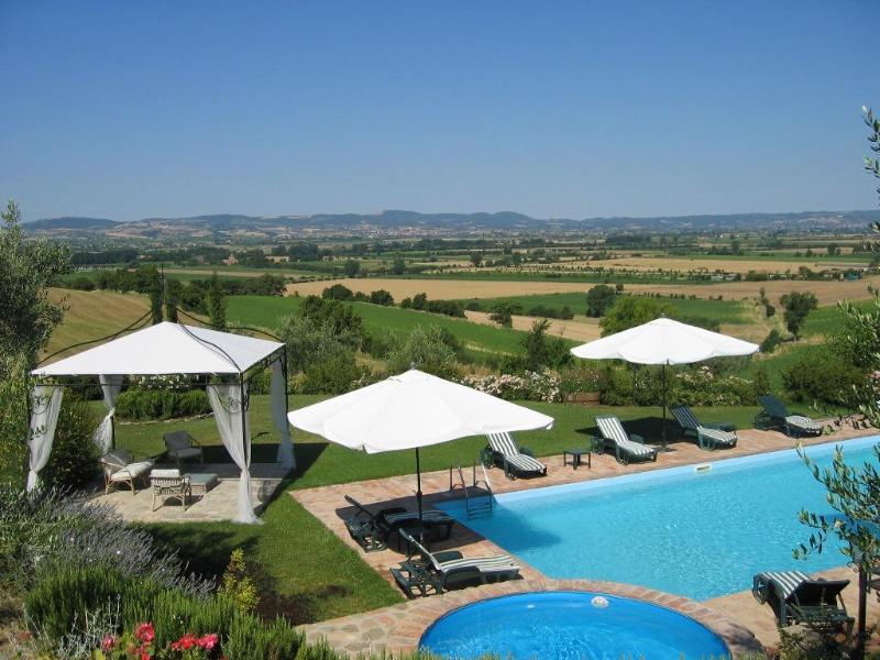 Pool - Tuscany Villa Cortona Montepulciano - Cortona - rentals
