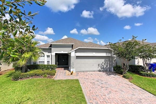 Luxury Gated Community 4bd 3 Bath Home.Pool. - Image 1 - Kissimmee - rentals