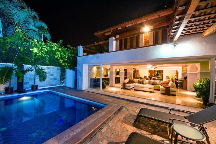 Indoor -Outdoor Living - Marina Vallarta Golf Course Vacation Home - Puerto Vallarta - rentals