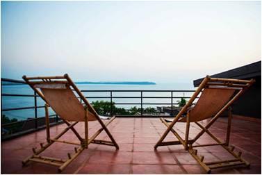 Stunning views at Casa Coco - Image 1 - Sinquerim - rentals
