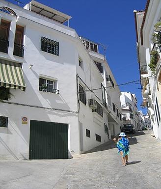 Outside View of the House - Salobrena, Spain 3 Bedroom Home - Salobrena - rentals