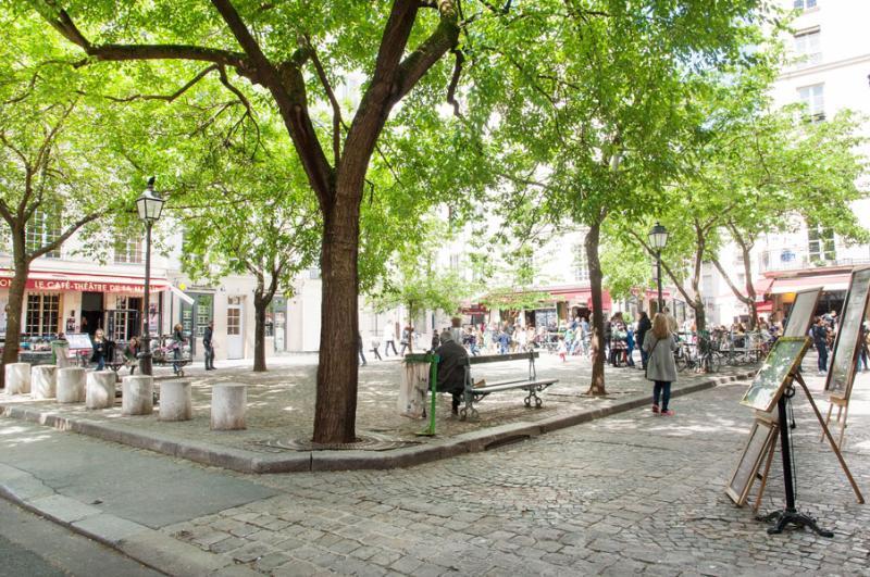 Cute Square + Modern Studio * FREE SEINE CRUISE - Image 1 - Paris - rentals