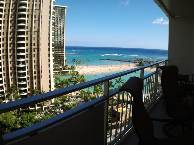 Ocean view and steps to the beach = paradise. - Image 1 - Honolulu - rentals