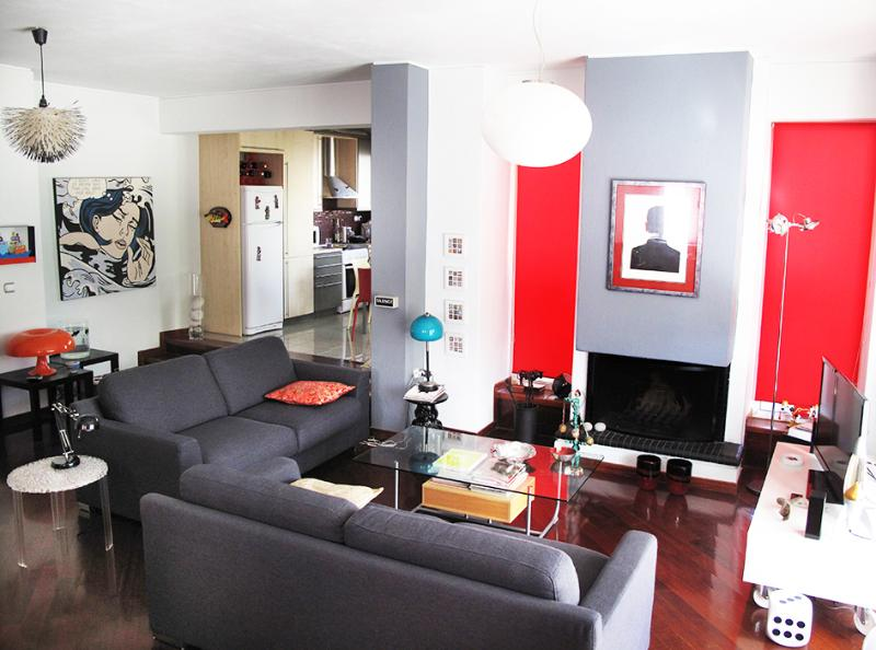 A fantastic designed apartment in Athens - Image 1 - Kifissia - rentals