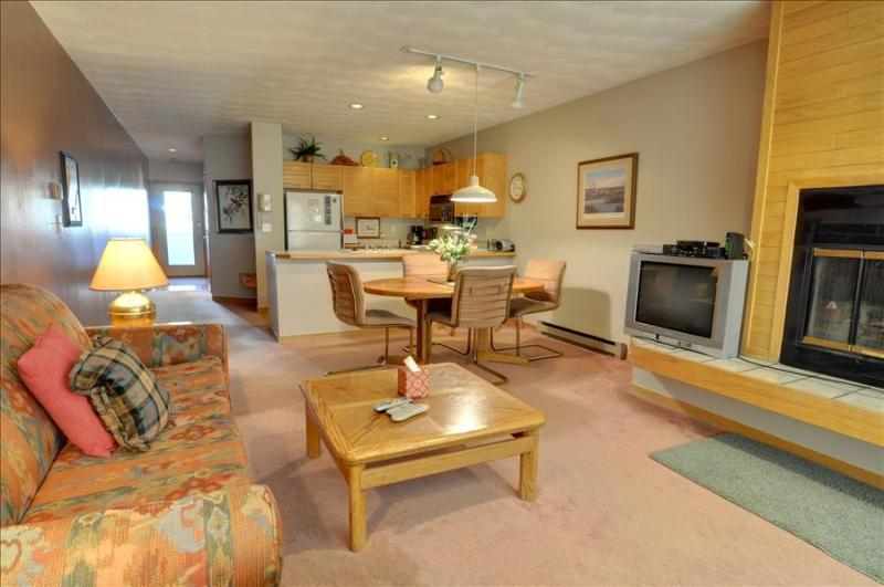EAST BAY: 1st Floor, 1 Bed/1 Bath on Lake Dillon, Spectacular Views, Covered Parking, WiFi - Image 1 - Dillon - rentals