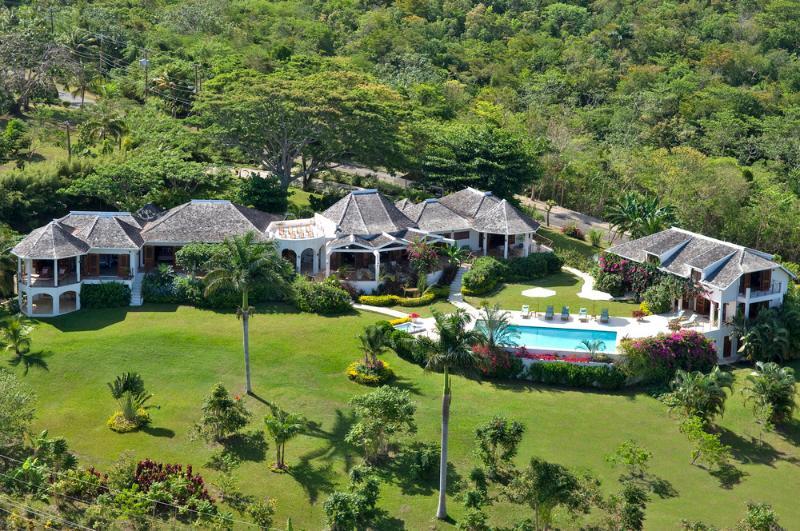 Aerial View of Sugar Hill - Sugar Hill Villa - Tryall Club - Jamaica - Hope Well - rentals