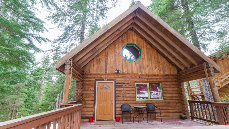 front of cabin - Cozy Log Cabin in Forest by Alyeska - Girdwood - rentals