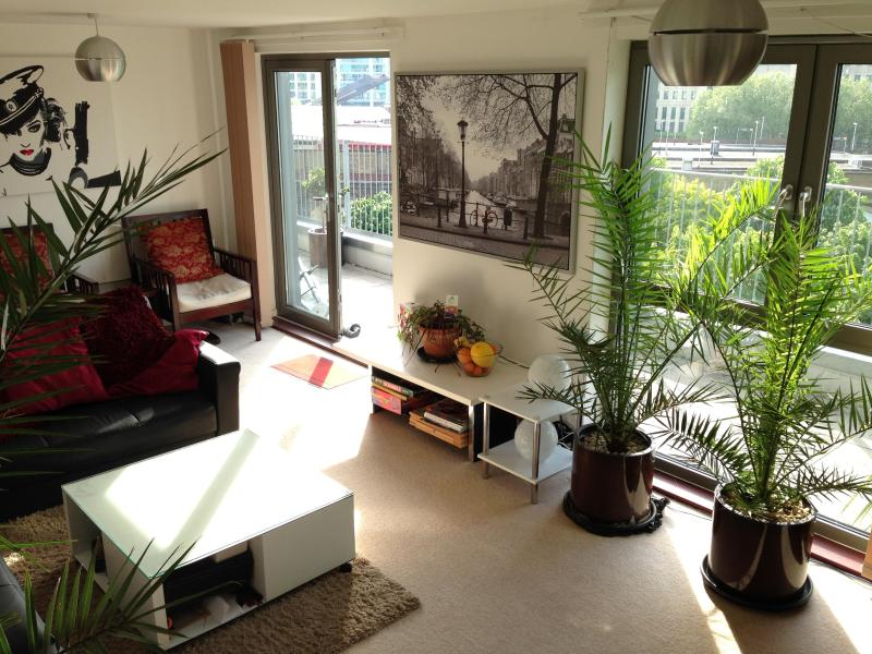 Living Room - Penthouse 1 Large Double Bedroom - Central Londo - London - rentals