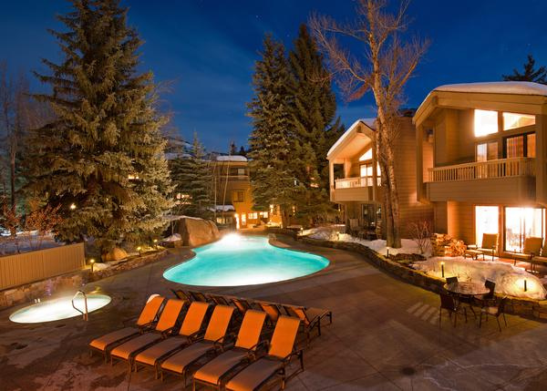 Outdoors at the Gant - One Bed at Gant - Pools, Hot tubs, Work-out Area, Fireplace, Balconies & Views! - Aspen - rentals