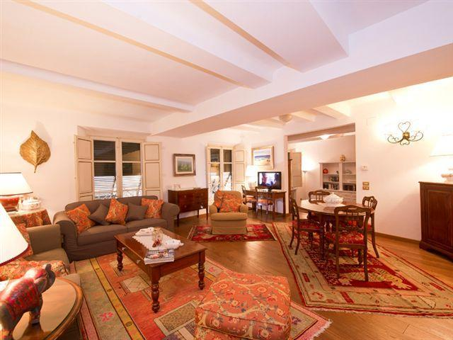 the living room - stylish large 3 bedrooms apartment in Lucca - Lucca - rentals