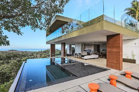 Aerie BB131 in Black Beauty Village, infinity pool and hot tub, rooftop garden & private cook - Image 1 - Ostional - rentals