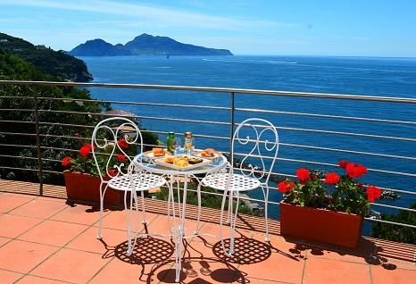 Enjoy Breakfast Surrounded with Beauty! - Luxury Villa with Amazing Views! - Sorrento - rentals