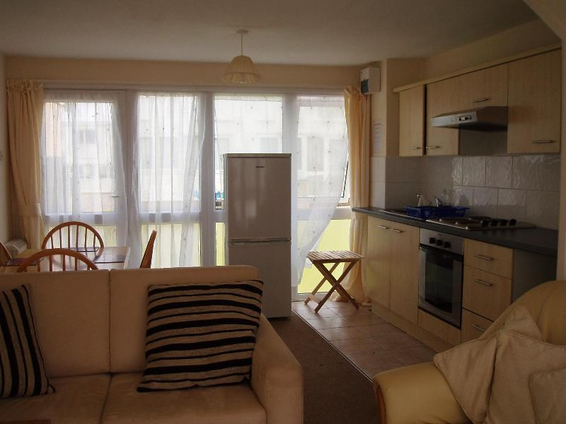 Open Plan Kitchen, Dining Room, Lounge - Freshwater East, Pembroke, Chalets To Rent, 153 - Freshwater East - rentals