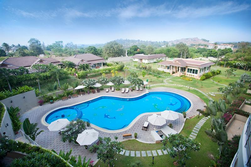2 bed / 2 bath condo in Searidge resort - Image 1 - Hua Hin - rentals
