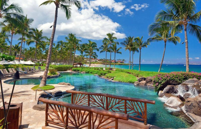 Oceanfront adult-only pool - Wailea Beach Villas 3BR Upscale Oceanfront Condo - Wailea - rentals