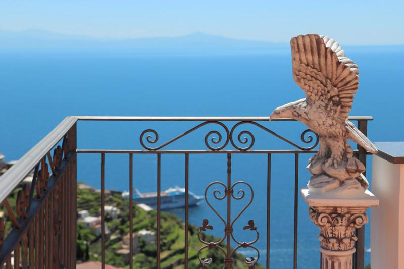 Very quiet area with sea view - Il Sogno di Amalfi, house with stunning sea view - Amalfi - rentals