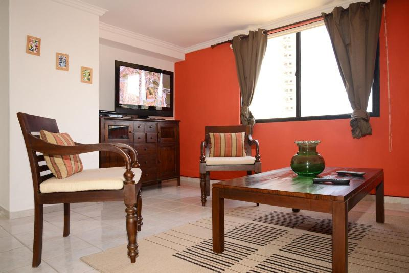 Living Room - Deluxe 1 Bedroom Condo in Naco - Santo Domingo - rentals