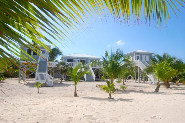 Center living area with detached bedrooms on each side - Bloody Bay Bungalow-The only house on Bloody Bay!! - Little Cayman - rentals