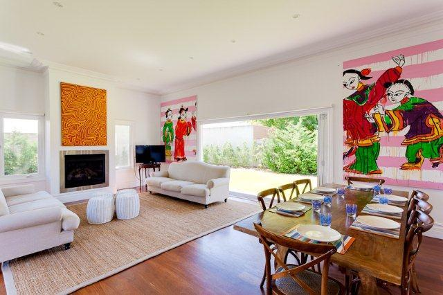 Living area& dining - Cottesloe Beach House Stays- Strickland Park House - Perth - rentals