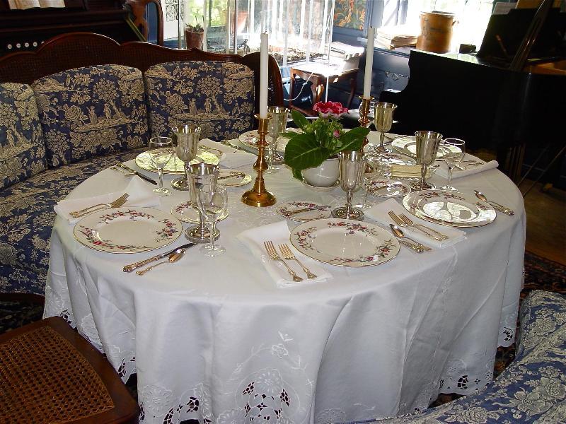 Dining at B&B- formal gourmet breakfast, great coffee, tea - The Quilt Room - Crawfordsville - rentals