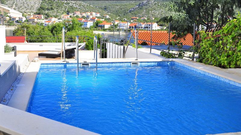 Villa Silvio - luxury house with private swim pool - Image 1 - Seget Vranjica - rentals