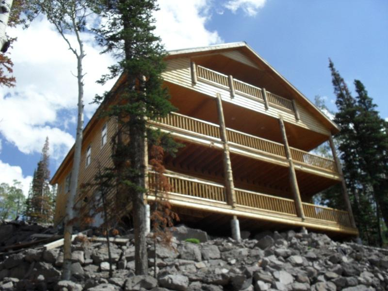 Great views from all three decks! - New Custom Cabin with WIFI & Satellite TV - Brian Head - rentals