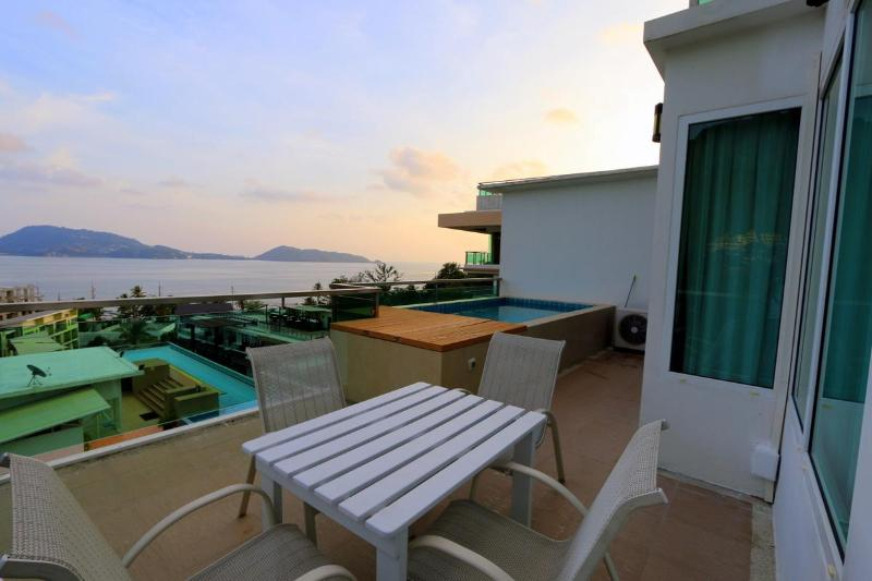 Amazing Sea View Apartment in Patong with Pool - Image 1 - Patong - rentals