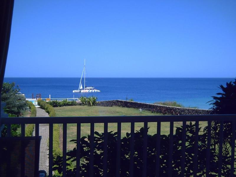 Balcony view - 2 Bed Ocean & Beachfront Apt. in Los Balcones. - Sosua - rentals