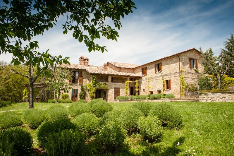 Sterlinghe main villa - Sterlinghe -  Stunning 16th Century Italian Villa - Citta di Castello - rentals