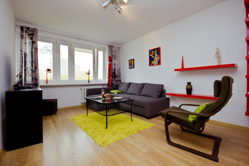 1 bedroom apartment in the city center! E. Plater - Image 1 - Warsaw - rentals