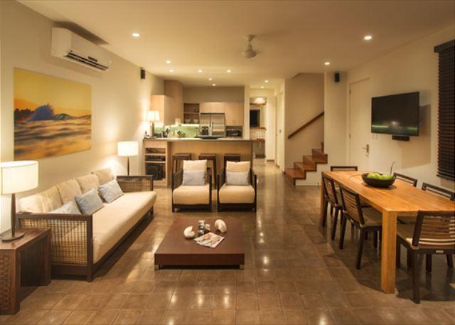 Living Room - El Estero 4-Bedroom Ocean View Villa at Las Mareas - Tamarindo - rentals