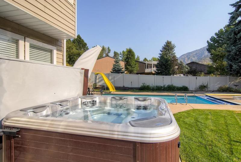 Contemporary home with a private hot tub and stunning mountain views - Image 1 - Salt Lake City - rentals