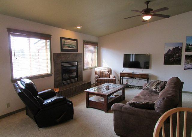 Living Area - This charming retreat is located near shopping - McCall - rentals
