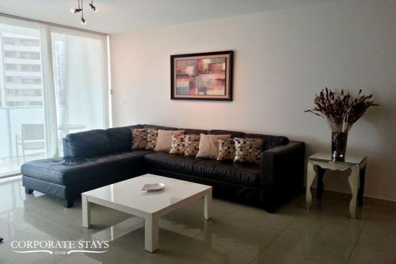 Panama City Paitilla Blue 2BR Temporary Flat - Image 1 - Caldera - rentals