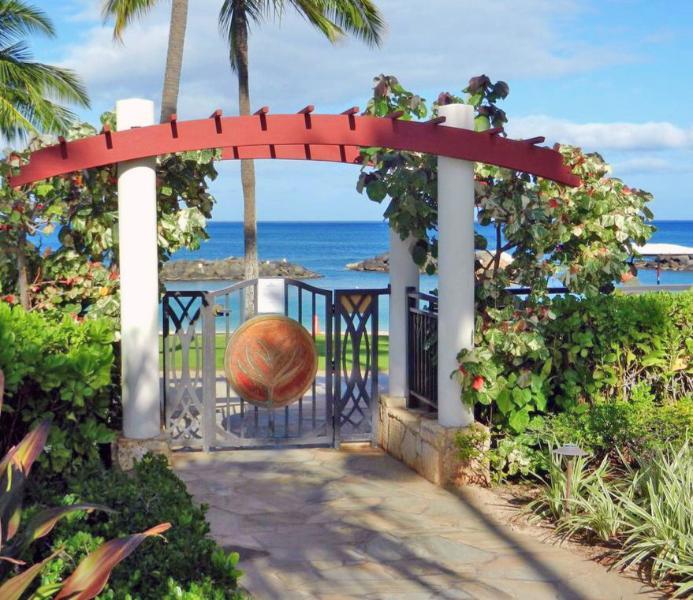 Honu Ocean Beach Lagoon Entry is very close to our villa - Ko Olina Beach Villas B106 - 1st Floor near Beach! - Kapolei - rentals
