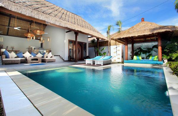 Spacious private pool and Gazebo for relaxing - The Villa Asri - Seminyak - rentals