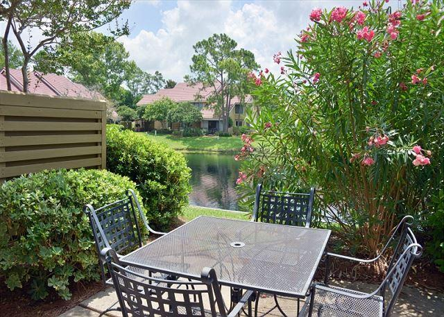 Back patio of beautiful villa - Get rid of the winter blues . Make your beach plans early! - Sandestin - rentals