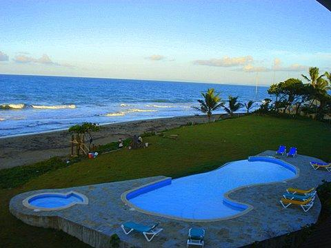 Feel the warmth of a new day starting. - AWESOME Oceanfront Penthouse - Cabarete - rentals