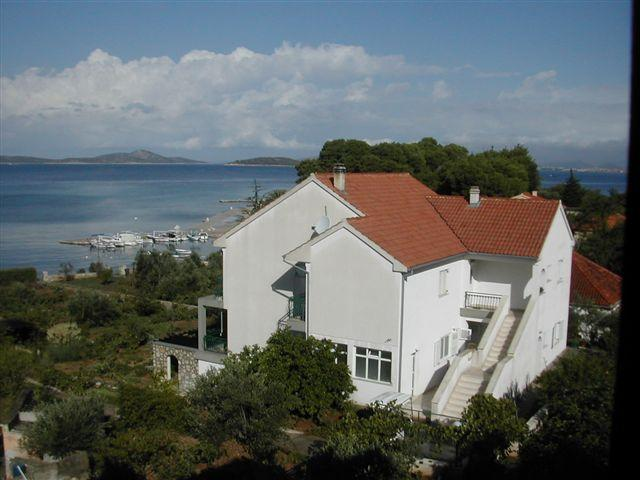 back view - Apartmani Zlarin - Jadrija - rentals