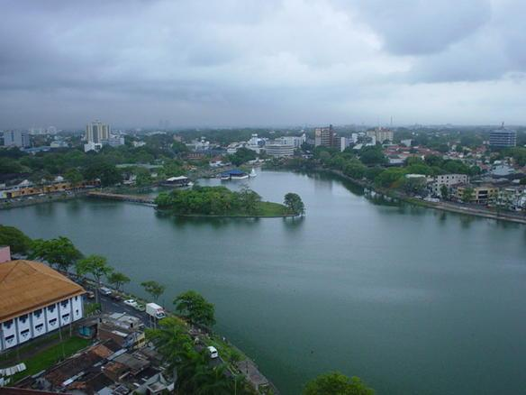 Another view of Beira Lake - 2 BR Furnished Apartment for rent at Crescat - Colombo - rentals