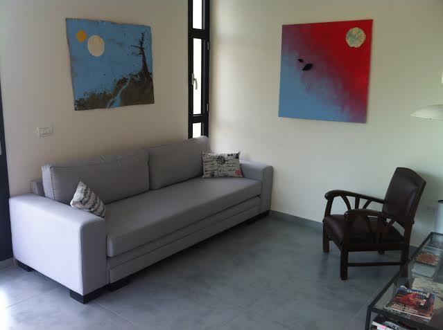 living room - Tel Aviv: Luxury & New by the Sea & the Market - Gedera - rentals